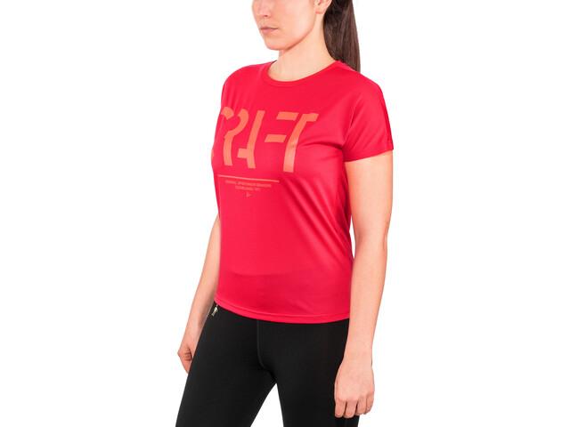 Craft Eaze Logo T-Shirt z siateczką Kobiety, jam